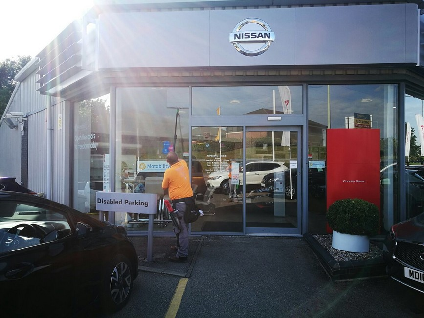 Sparkle Window Cleaners Chorley cleaning Chorley Nissan