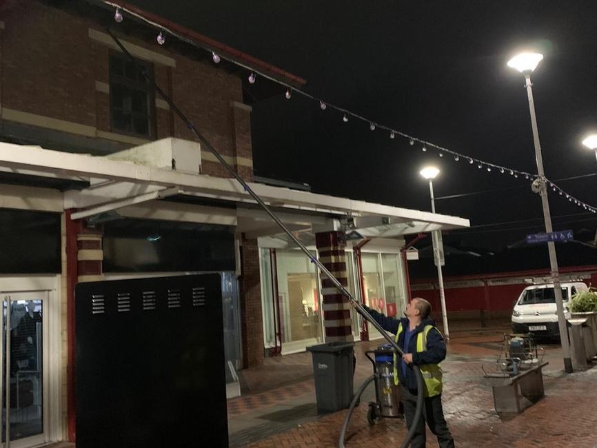 Market Walk Chorley window cleaners